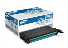 Прошивка и заправка картриджа Samsung CLT C508S/SEE (голубой)