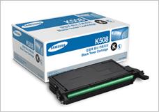 Прошивка и заправка картриджа Samsung CLT K508S/SEE (черный)
